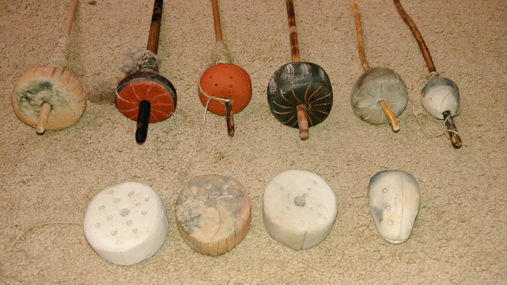 Neolithic spindle whorls